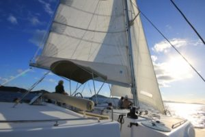 55 foot Lagoon for charter in Exuma